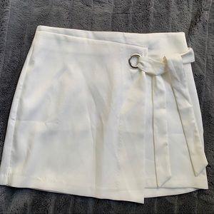 Jealous Tomato white mini skirt